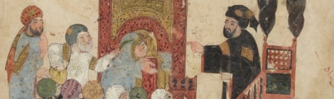 Les Makamat de Hariri Arabe 5847 - Bibliothèque nationale de France
