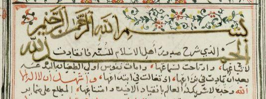 Fath al-Bari manuscript Simon Digby collection